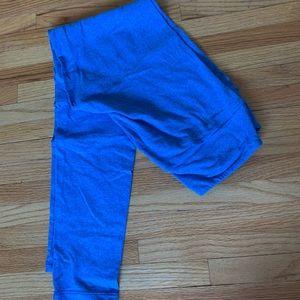 NWOT heather blue LLR leggings o/s